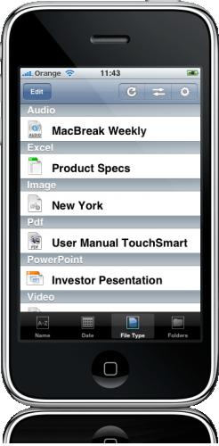 FileAid no iPhone