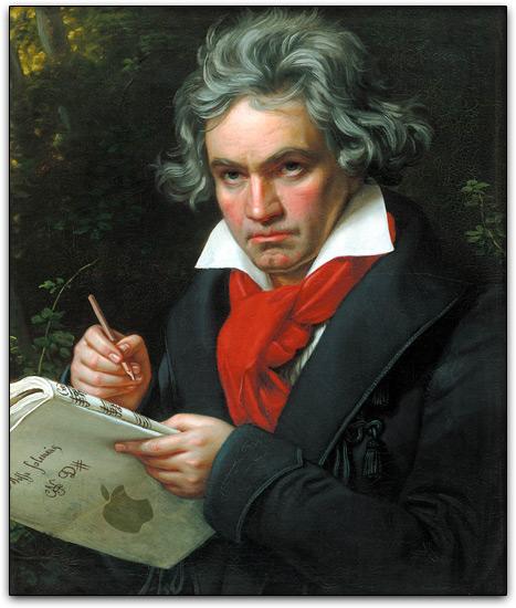 Beethoven e Apple