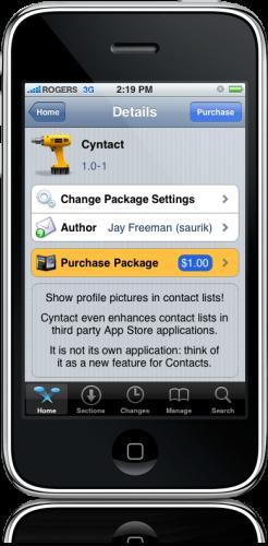 Cydia Store no iPhone