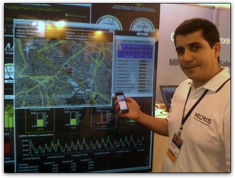 Sistema SAP e Neoris com iPhone