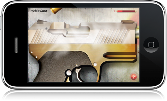 mobileGuns no iPhone