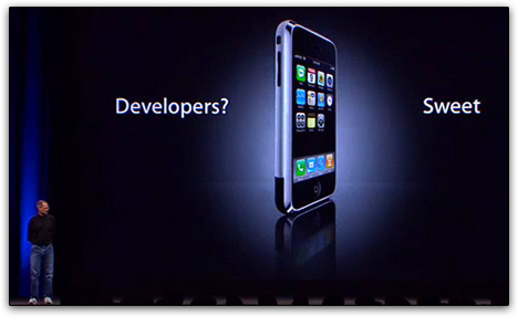 iPhone developers - Sweet