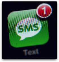 SMS no iPhone