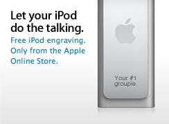 Gravação de fases no iPod shuffle 3G