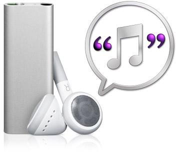 VoiceOver do novo iPod shuffle 3G