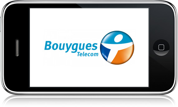 iPhone 3G na Bouygues Telecom