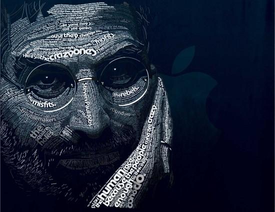 Steve Jobs Tipográfico