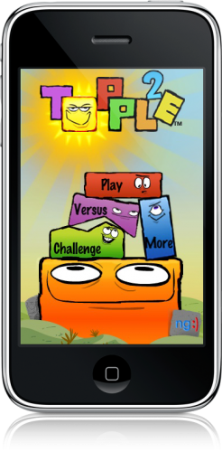 Topple 2 no iPhone