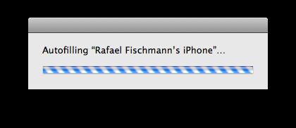 Autofill do iTunes 8.1