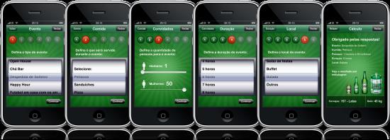 Assistente do Heineken no iPhone