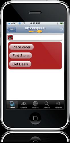 AdSense no Urbanspoon do iPhone
