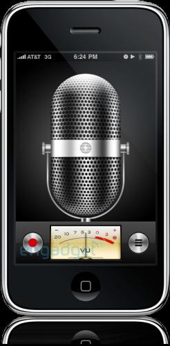 Screenshot do iPhone OS 3.0