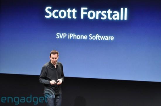 Scott Forstall no iPhone OS 3.0