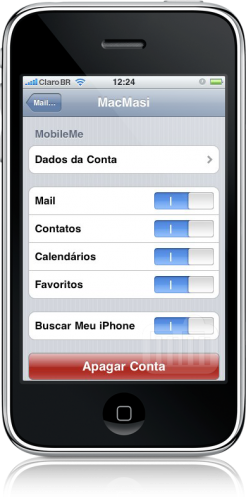 Find My Phone - iPhone OS 3.0 e MobileMe