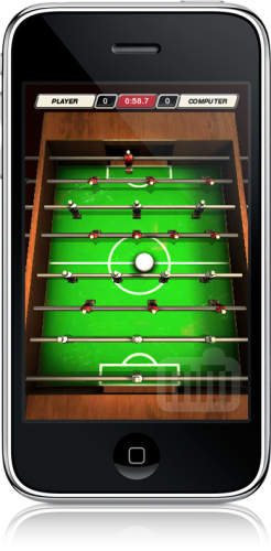 Foosball 3D no iPhone