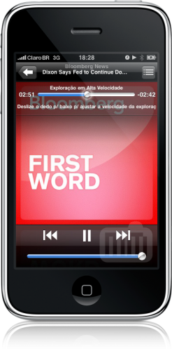 Podcasts no iPhone OS 3.0