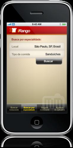 iRango no iPhone