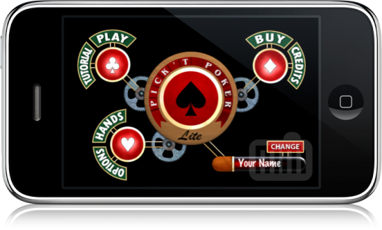 Pik't Poker Lite para iPhone