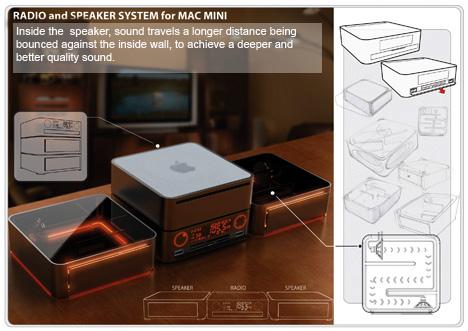 Mac mini Radio Speaker System