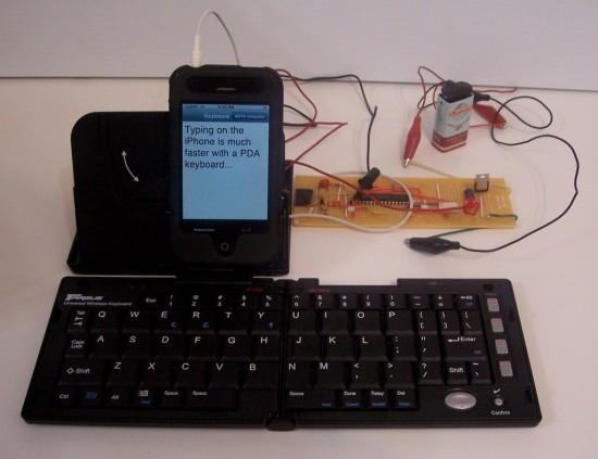 Teclado IR no iPhone