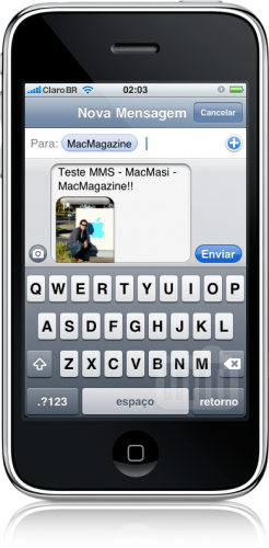 MMS no iPhone OS 3.0