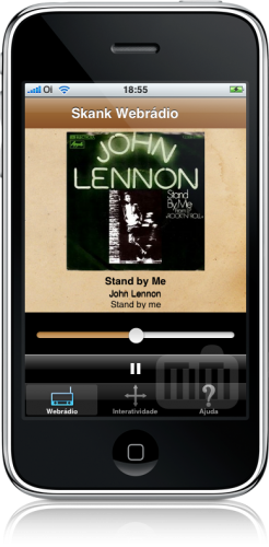 PlayMe Skank no iPhone