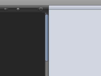 Mac OS X Snow Leopard - esboço da interface Marble