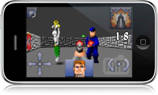 Wolfenstein 3D Classic no iPhone