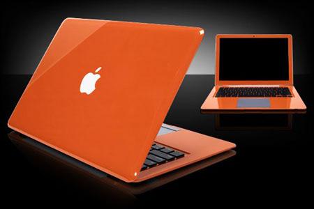 MacBook laranja