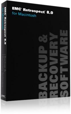 Caixa do EMC Retrospect 8