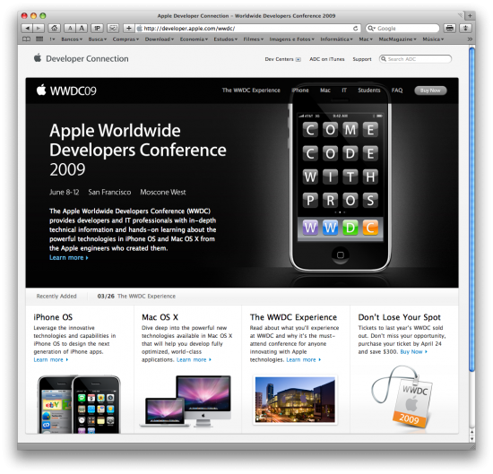 Worldwide Developers Conference (WWDC) 2009