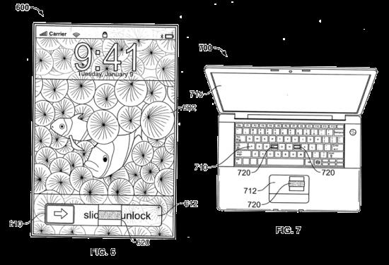 Apple e patente biométrica
