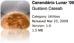 Calendário Lunar '09 na App Store