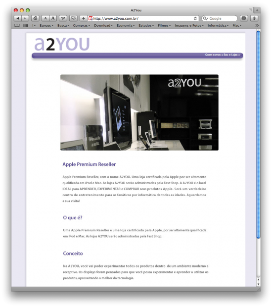 Site da a2YOU