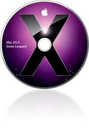 DVD do Mac OS X Snow Leopard solto