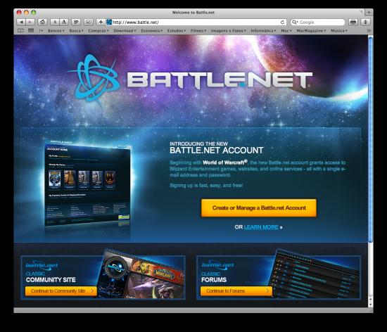 Novo Battle.net