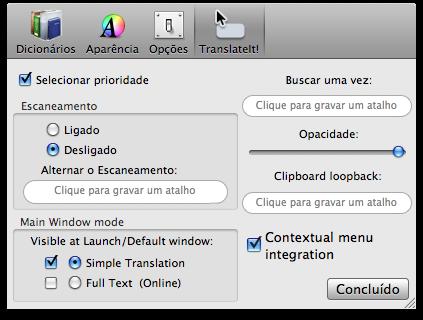 Escaneamento TranslateIt!