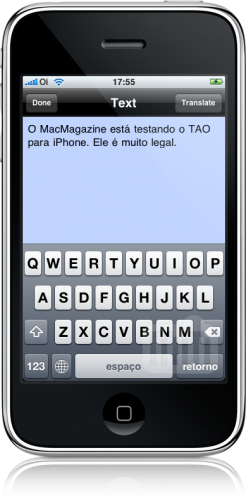TAO no iPhone