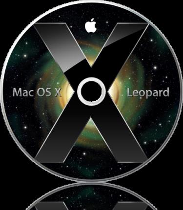 DVD do Mac OS X Leopard