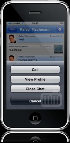 Skype no iPhone