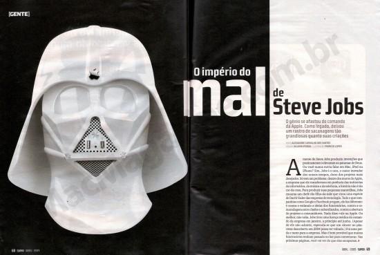 Steve Jobs Vader na SUPER