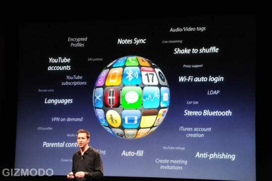 Conjunto de novidades no iPhone OS 3.0