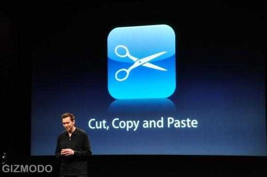 Copy & Paste no iPhone OS 3.0