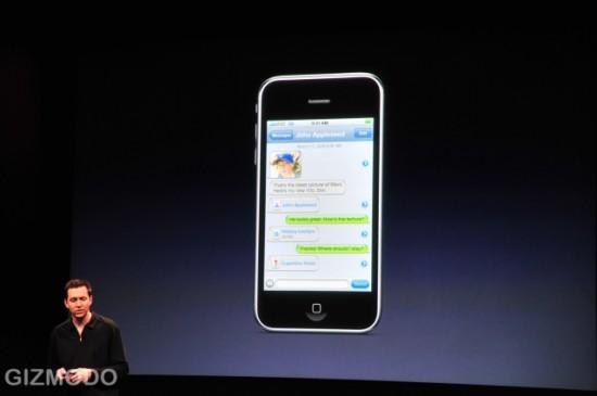 MMS no iPhone OS 3.0