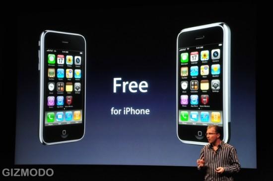 Preço do iPhone OS 3.0