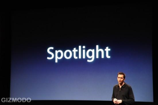 Spotlight no iPhone OS 3.0
