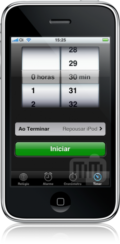 Timer do iPhone