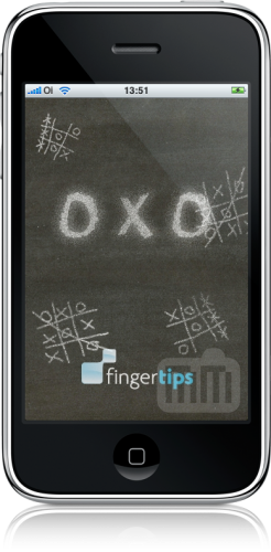 OXO, da FingerTips, no iPhone