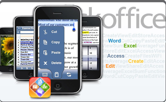 Quickoffice para iPhone
