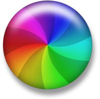 Bolinha do arco-íris da morte